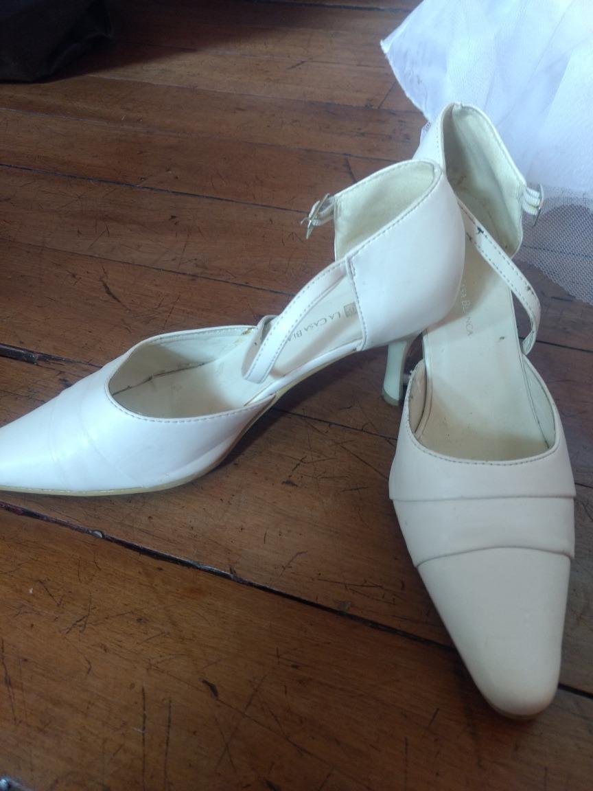 Vestido De Novia 44, Zapatos 37 - $ 80.000 en Mercado Libre