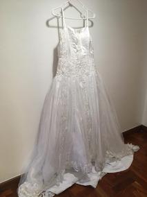 7eb705317 Vestido Novia Blanco Con Lazo - Vestidos de Mujer en Mercado Libre ...