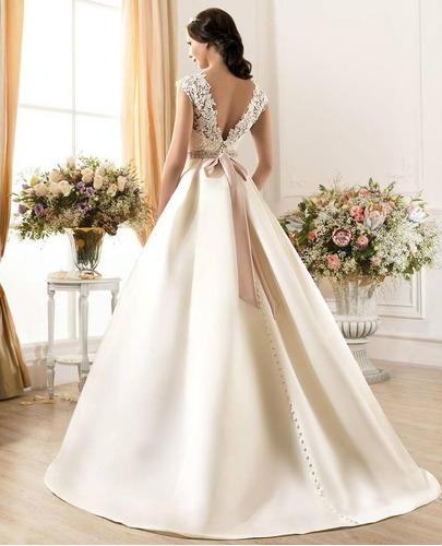 vestido de novia a medida #35 precio de seña - $ 6.000,00 en mercado