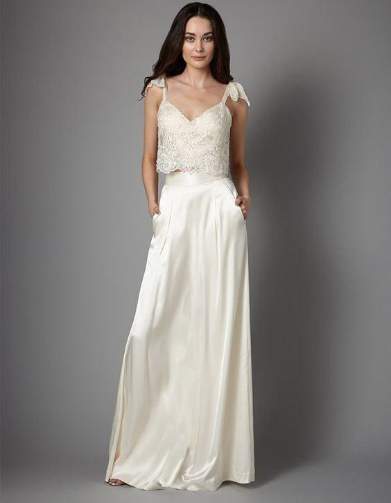 Vestido de novia super elegante