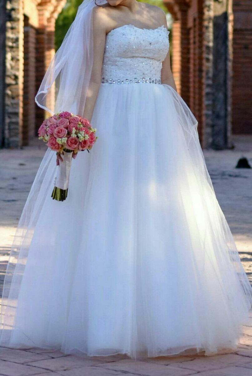 Vestido De Novia Ajustable - $ 4,000.00 en Mercado Libre