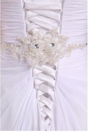 vestido de novia ajustable size 16 white