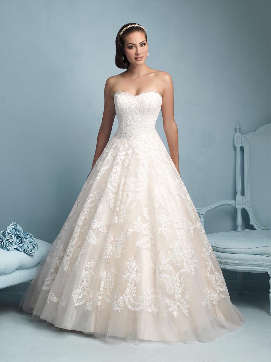 Vestido De Novia Allure Bridals 9217 Talla 10 Original - $ 1.350.000 ...
