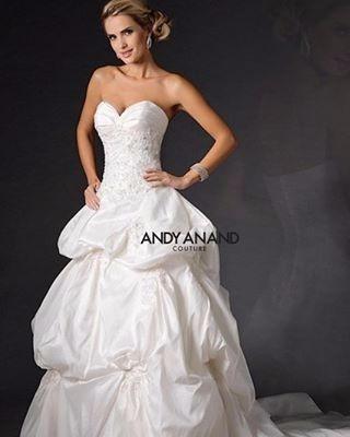 Vestido De Novia Andy Anand Couture Talla 14 Buen Fin 3 X 2 ...
