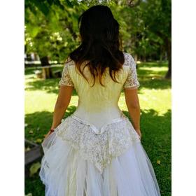 Vestido De Novia Antiguo Original....
