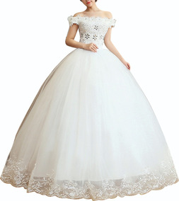 Oferta Vestido Novia De Pedrería Apliques W2EHID9