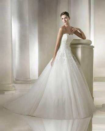 vestido de novia argel marca st. patrick (seminuevo) - $ 10,500.00