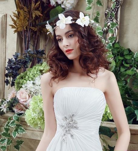 vestido de novia barato economico nuevo original hermoso j8