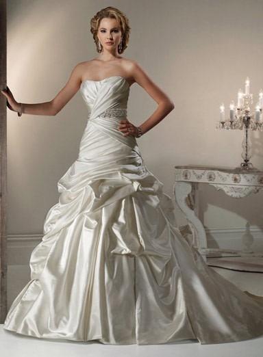 vestido de novia blanco perla - $ 7,500.00 en mercado libre