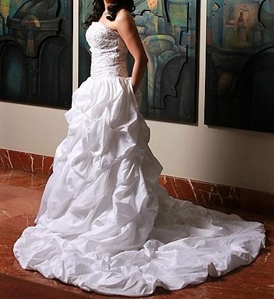 Vestido de novia blanco usado
