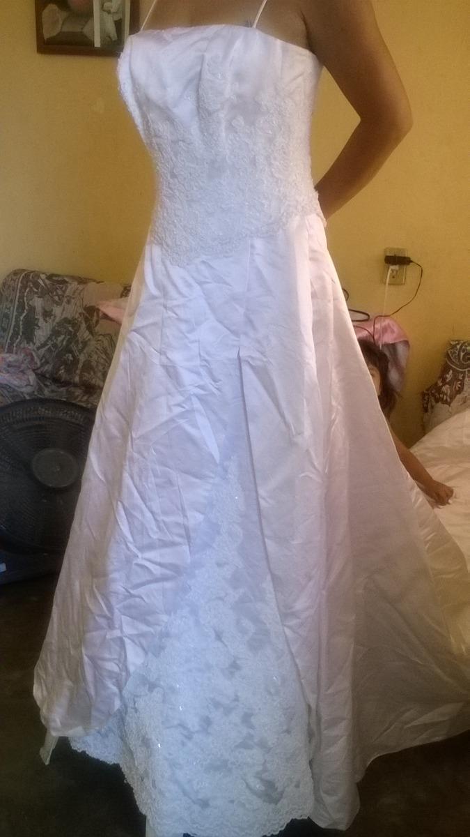 Vestido De Novia Boda Bordado Pedreria Envio Gratis - $ 1,800.00 en ...