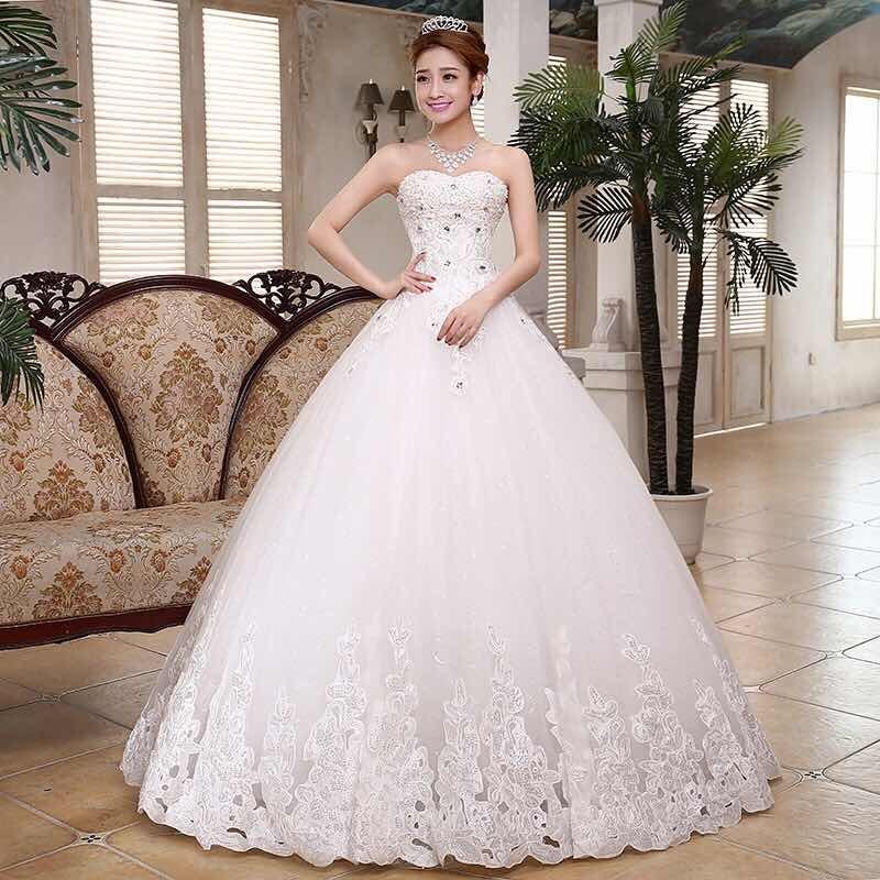 vestido de novia, boda con pedreria - $ 4,500.00 en mercado libre