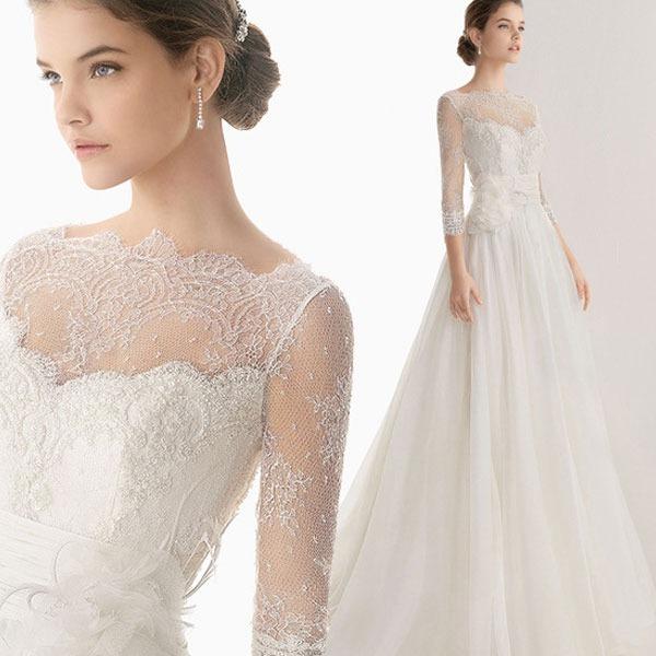 vestido de novia boda elegante importado entrega inmediata
