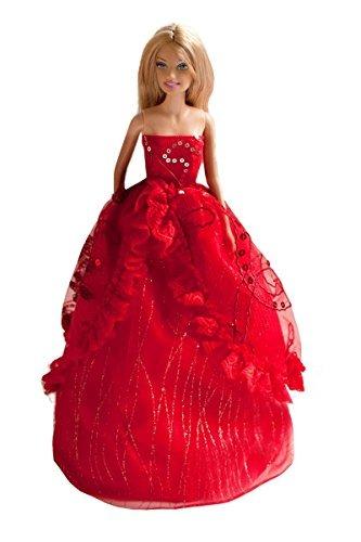 16cbaf11c Vestido De Novia Bordado Con Lentejuelas Rojas Vestido De Le ...