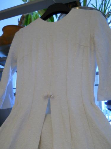 vestido de novia brocatto italiano