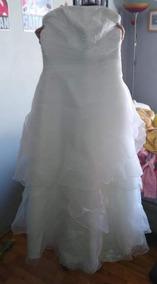 085b016e Arriendo Vestido Novia Casa Blanca - Vestuario y Calzado en Mercado ...