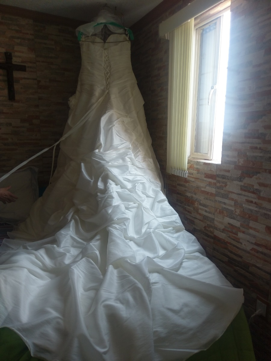 Vestido De Novia Casa Iza - $ 6,500.00 en Mercado Libre