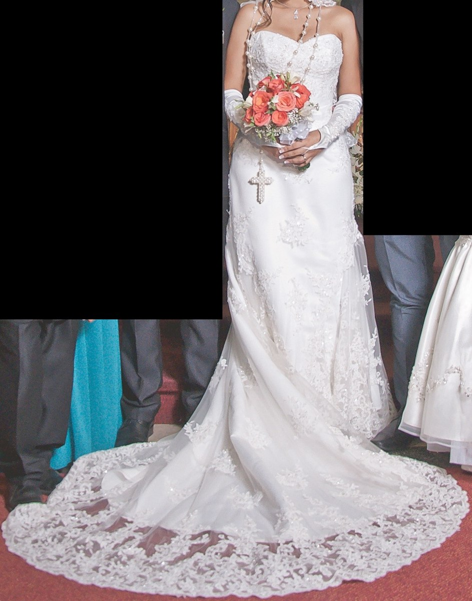 Fantástico Vestidos De Novia Christina Wu Cresta - Ideas de Estilos ...
