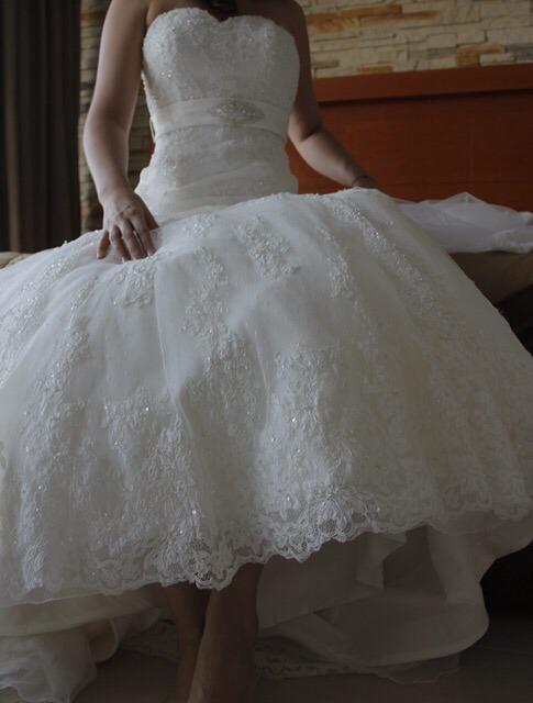 vestido de novia, cinto, velo y faldilla - $ 4,800.00 en mercado libre