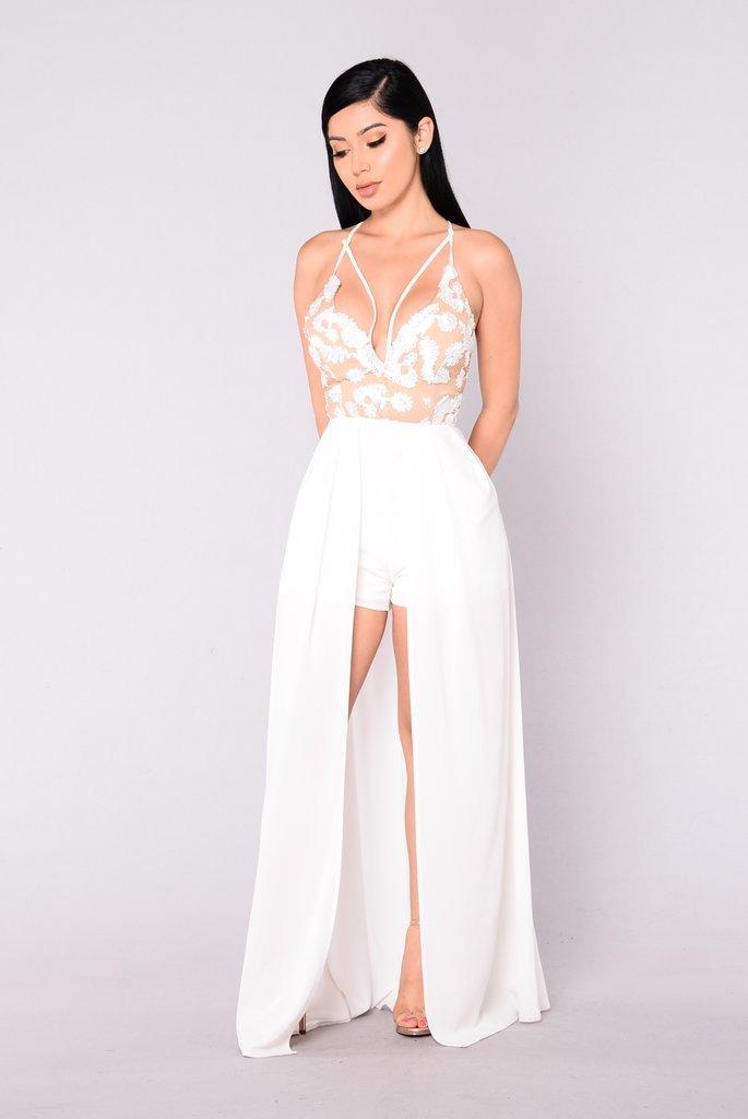 vestido de novia civil fiesta importado largo - $ 1.850,00 en