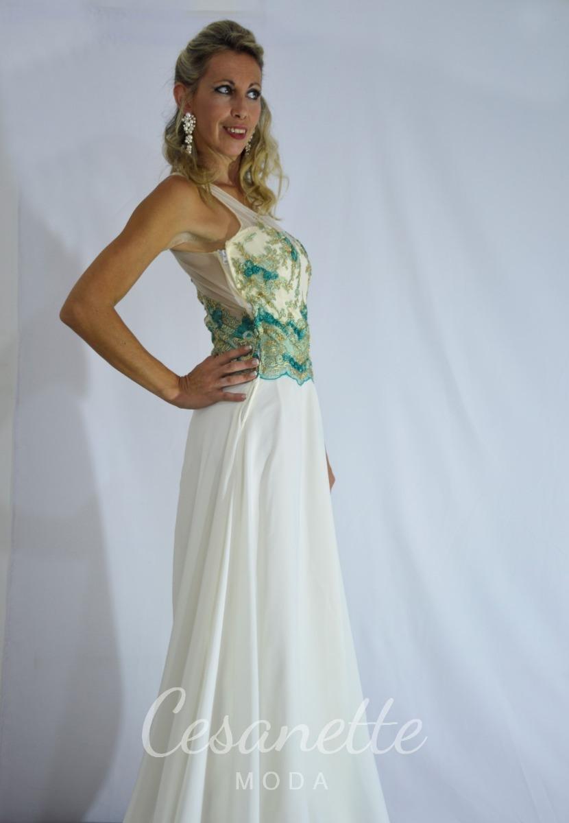 Vestido De Novia Color Arena Cesanette Moda - $ 22.000,00 en Mercado ...