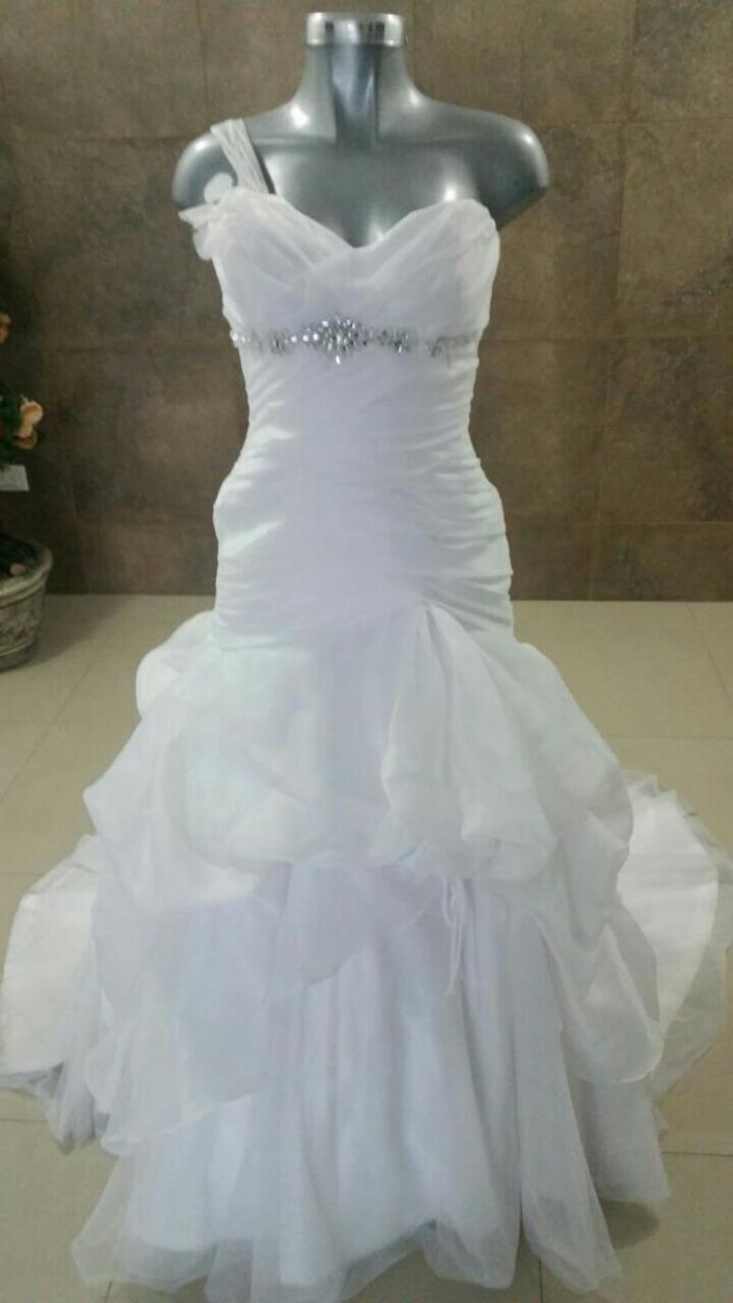 Vestido De Novia Color Blanco - $ 2,999.00 en Mercado Libre