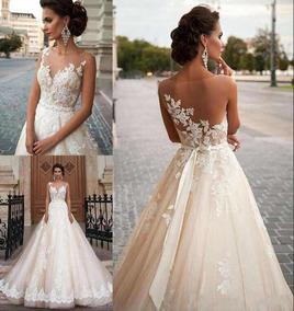 f57c291dd Vestido De 15 Color Champagne - Vestidos Largos para Mujer en ...