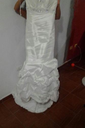 vestido de novia color ivory