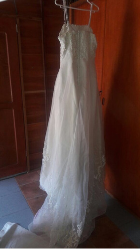 vestido de novia completo traído de españa, talla s