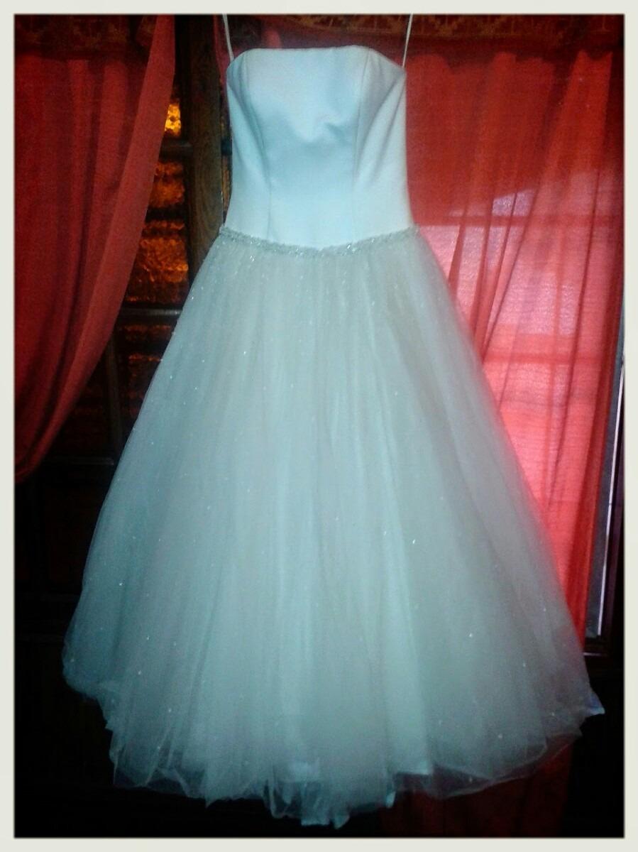 Vestido De Novia Con Cristales Swarovsky - $ 6.500,00 en Mercado Libre