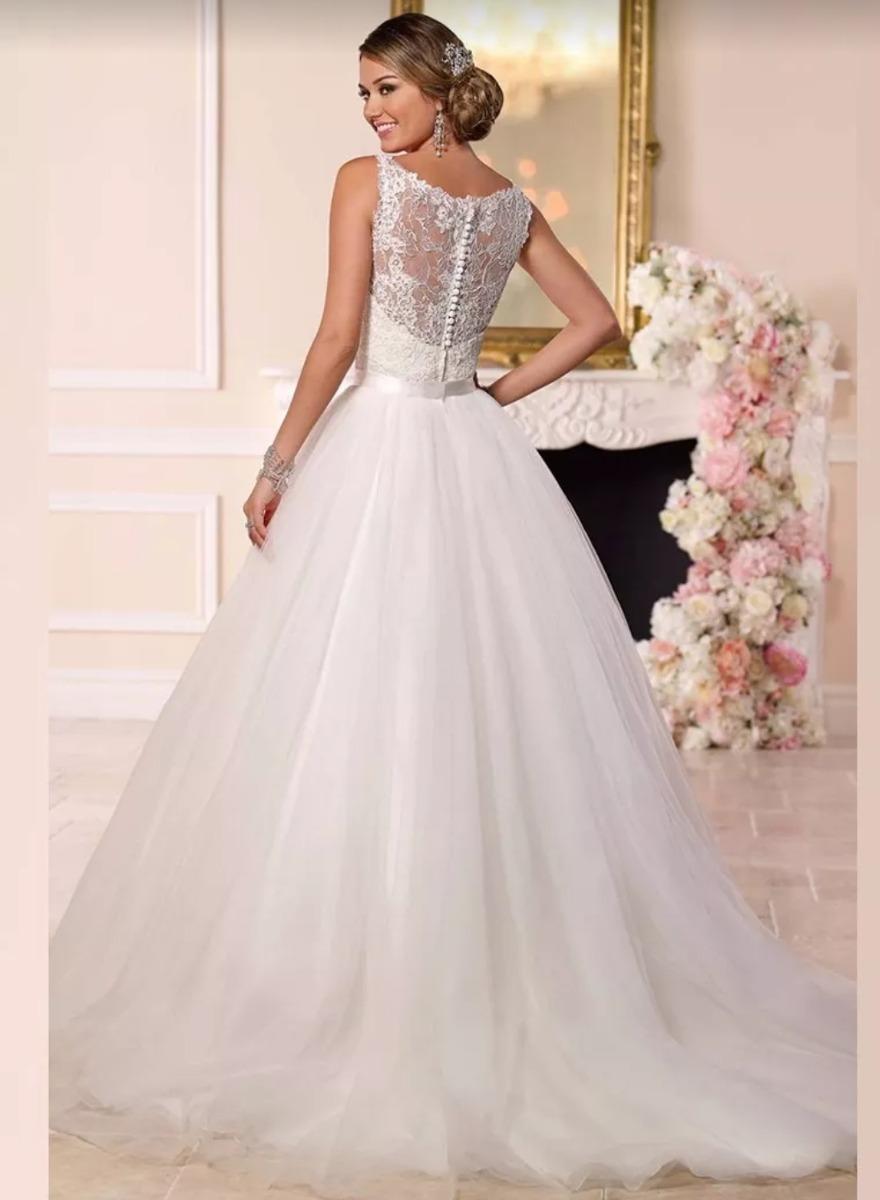 Vestidos de novia con falda desmontable