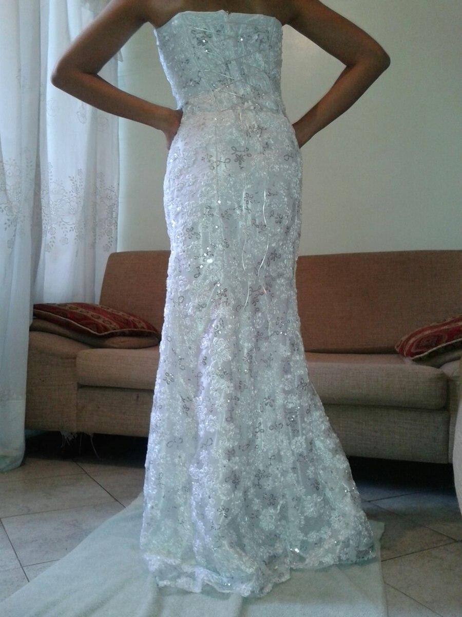 Vestido De Novia Con Velo - Bs. 150.000,00 en Mercado Libre