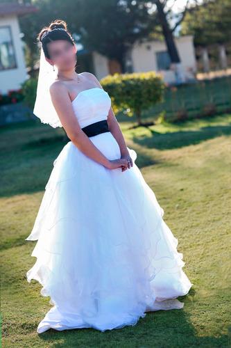 vestido de novia confeccionado en usa