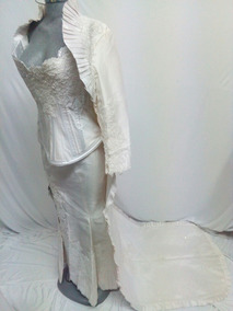 Vestido De Novia Corset 4 Piezas Juan Lona La Segunda Bazar