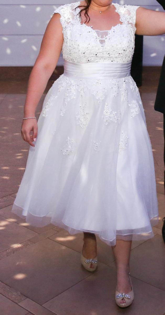 Vestido corte princesa xl