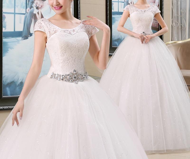 vestido de novia corte princesa linea a #6 - $ 9.300,00 en mercado libre