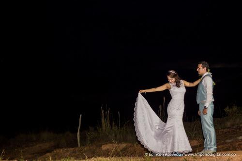 vestido de novia - corte sirena