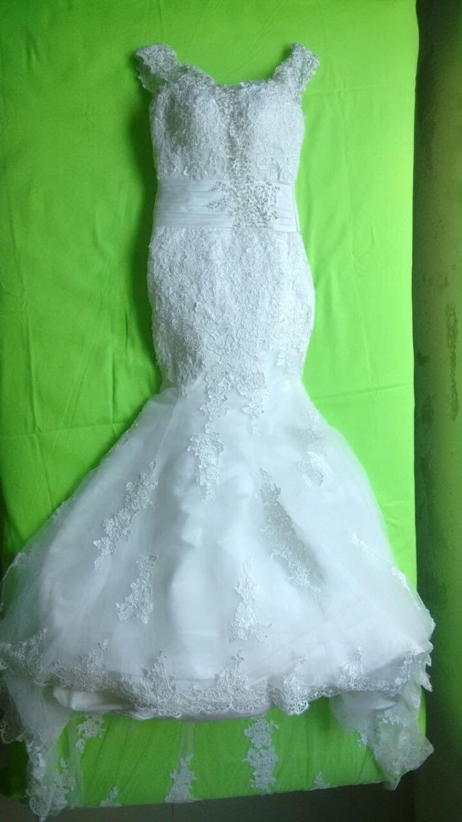 Vestido De Novia Corte Sirena - $ 4,000.00 en Mercado Libre