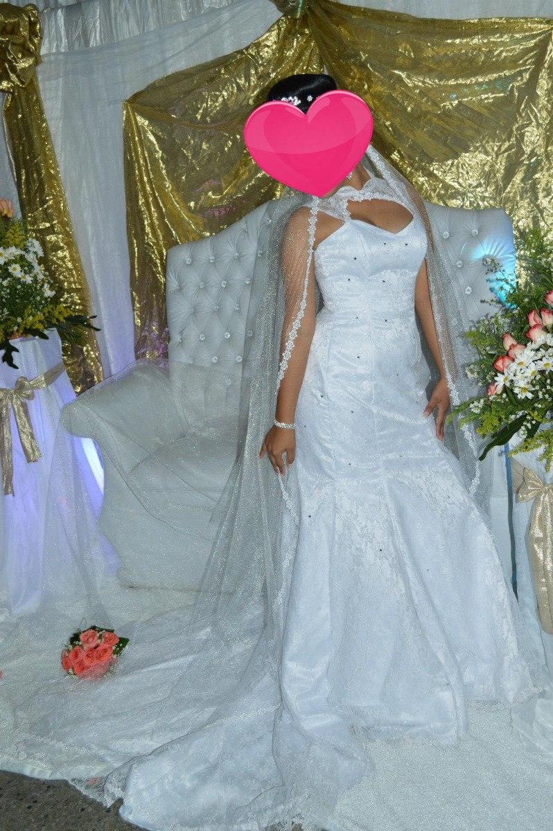 Vestido De Novia Corte Sirena Con Accesorios - Bs. 30.000,00 en ...