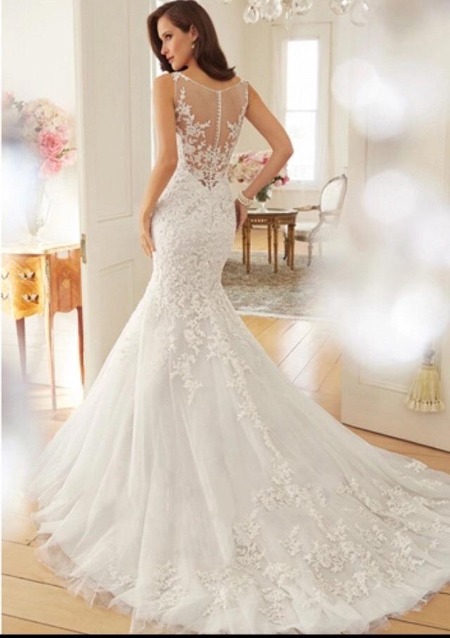 Vestidos de novia estilo sirena con encaje