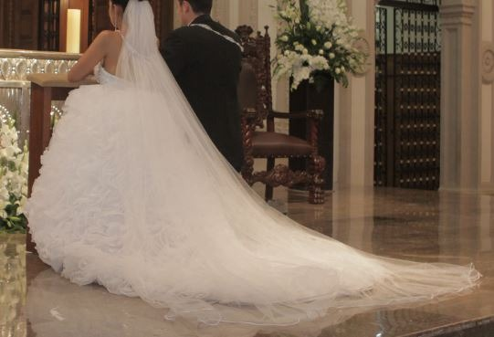 vestido de novia de casa iza - $ 6,800.00 en mercado libre