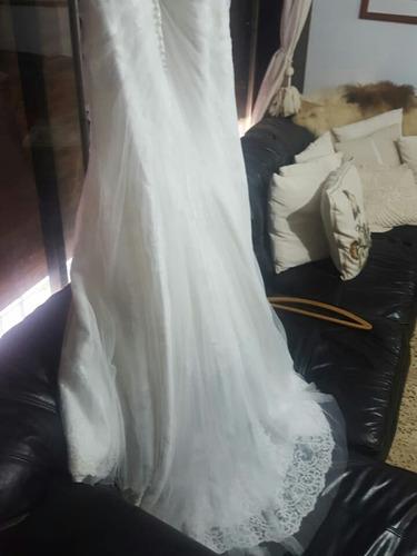 vestido de novia de diseñador. ronald joyce (uk)