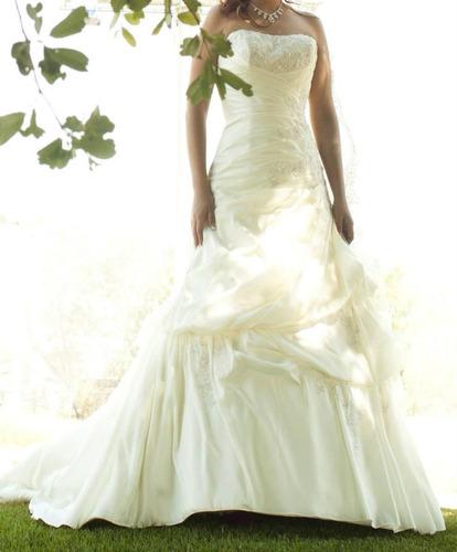vestido de novia de diseñador semi nuevo - $ 7,300.00 en mercado libre