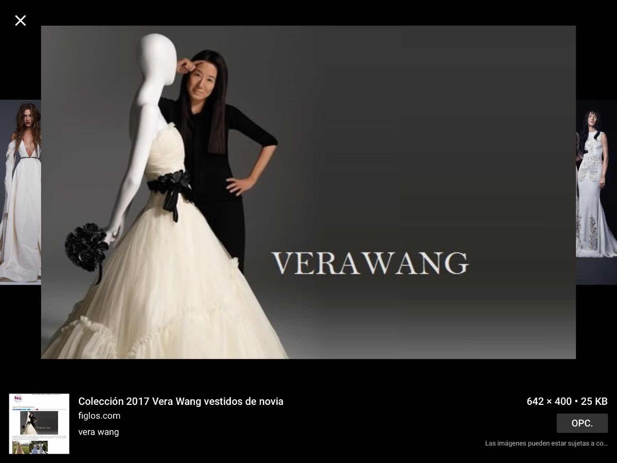 Vestido De Novia De Estreno Nuevo Vera Wang Talla M