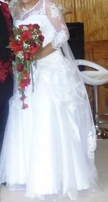 vestido de novia de finas telas