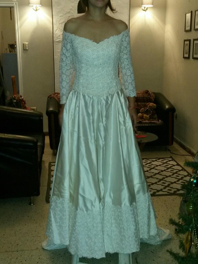 Vestido De Novia De Lujo Color Hueso. - Bs. 45.000.000,00 en Mercado ...
