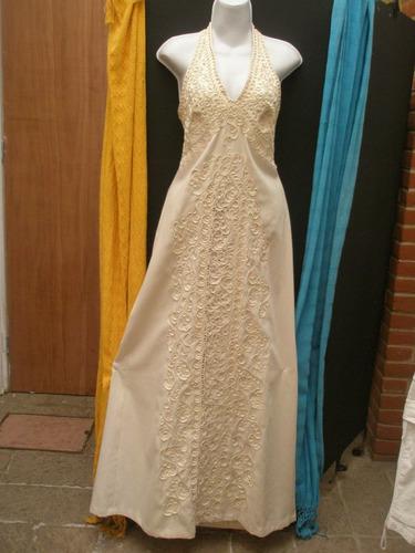 vestido de novia de manta