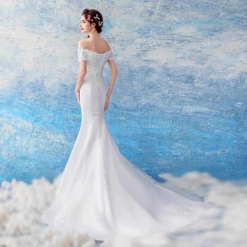 3996de8eb vestido de novia de sirena ajustable envio gratis ! w-180822. Cargando zoom.