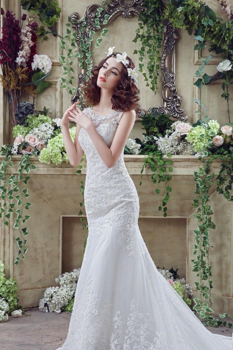 2a469b04f vestido de novia de sirena ajustable envio gratis ! w-32264. Cargando zoom.