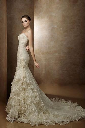 vestido de novia diseñador eduardo nieves